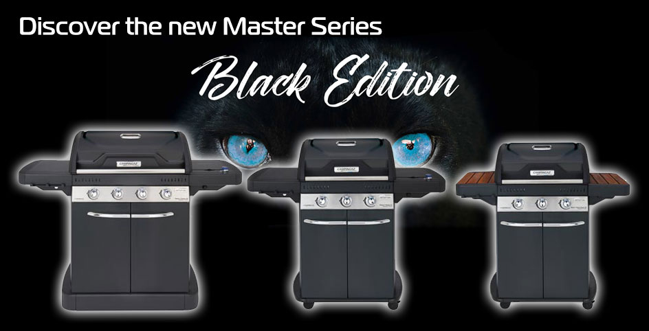 Master Series barbecues