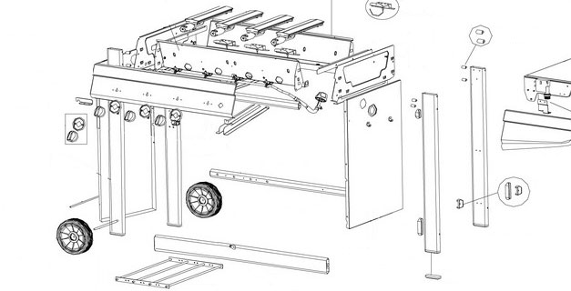 gasgrill ersatzteile kleinster mobiler gasgrill. Black Bedroom Furniture Sets. Home Design Ideas