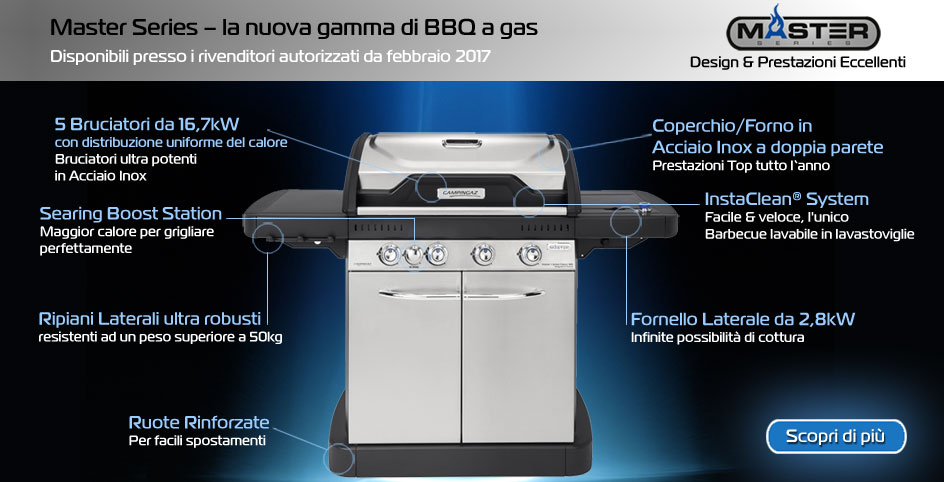 Master Series barbecue