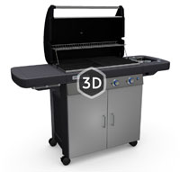 4 series classic lxs barbecue gaz. Black Bedroom Furniture Sets. Home Design Ideas