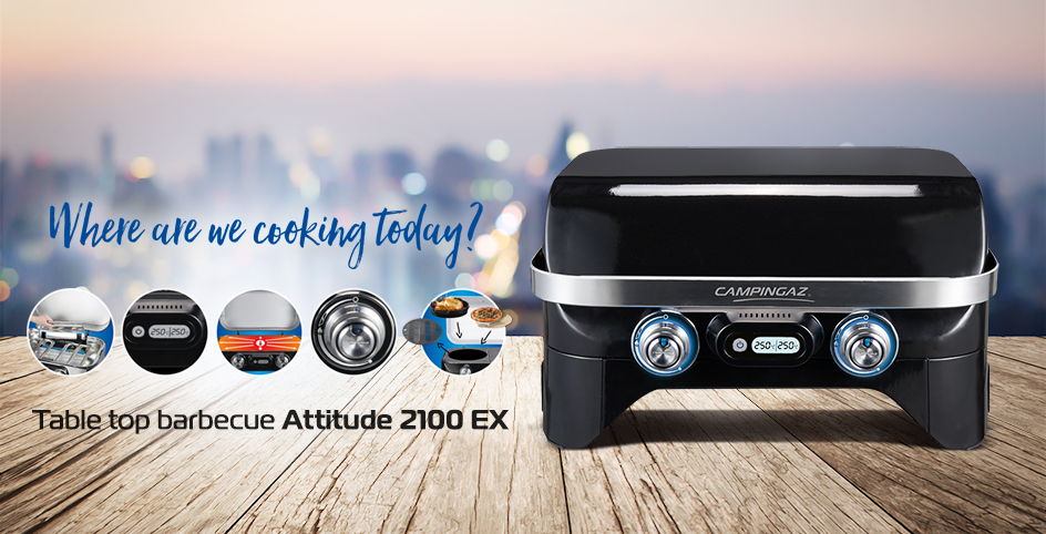 Attitude Seriec - table top barbecue