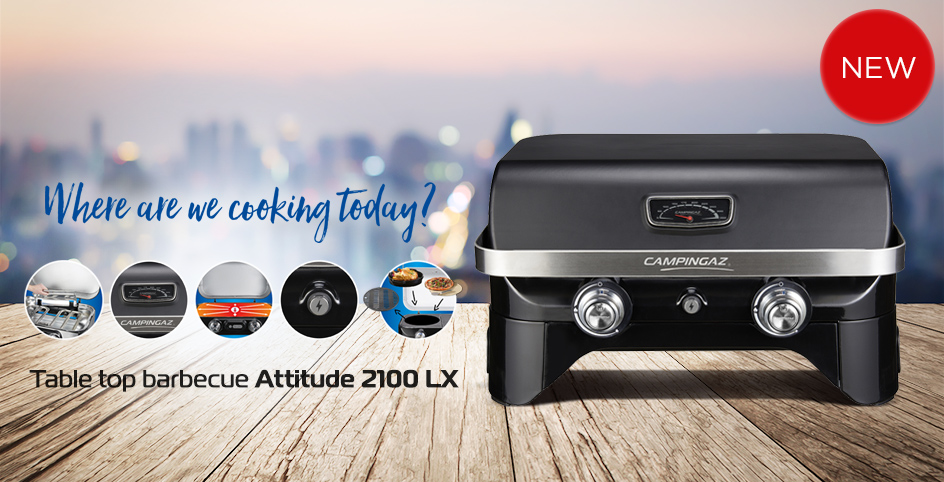 Attitude 2100 LX - table top barbecue