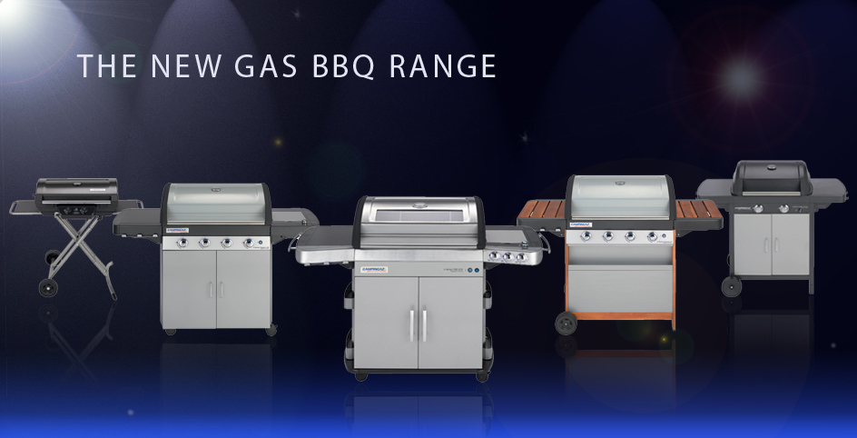 New Gas Barbecue Range 2014