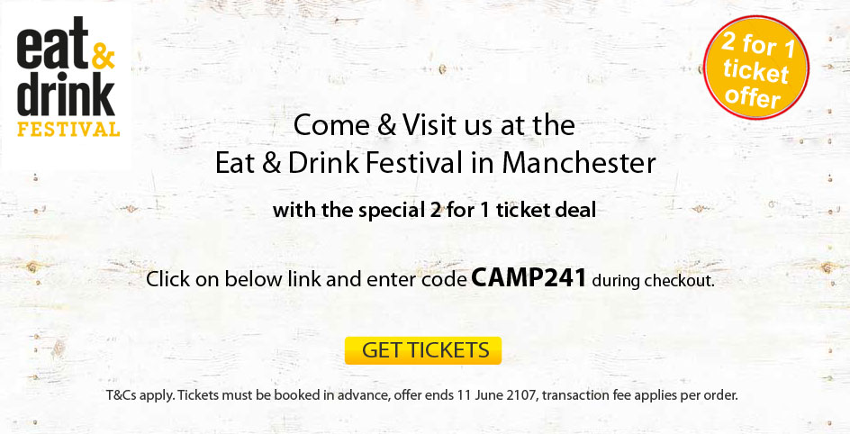 East & Drink Festival Manchester tickets