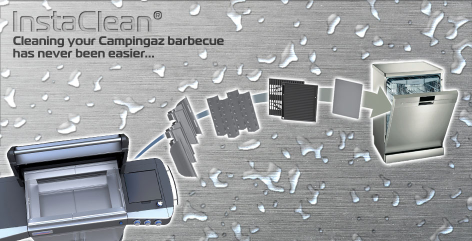 InstaClean technology for BBQs