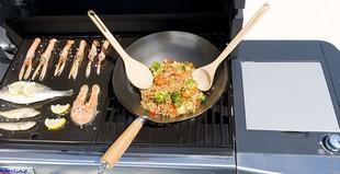 Wok Für Gasgrill : Campingaz culinary modular wokpfanne