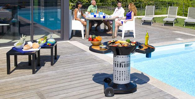 barbecue charbon de bois. Black Bedroom Furniture Sets. Home Design Ideas