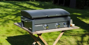 Plancha no trolley lx barbecue gaz - Plancha trolley gas met deksel ...