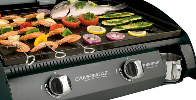 Campingaz adelaide plancha for Camping gaz barbecue plancha