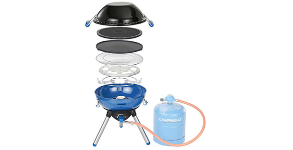 campingaz party grill 400 portable gas stove barbecue. Black Bedroom Furniture Sets. Home Design Ideas